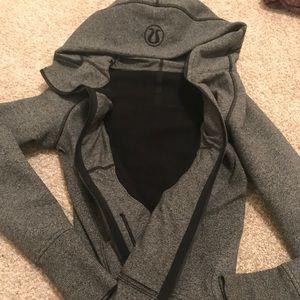 Worn once Lululemon scuba sweatshirt size 4